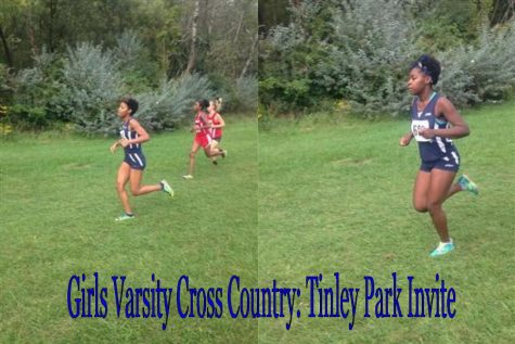 Hillcrest Varsity Girls Cross Country Contends at Tinley Park Invite