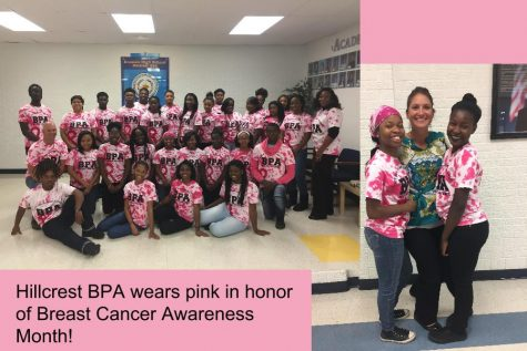 Hillcrest BPA Honors Breast Cancer Awareness Month