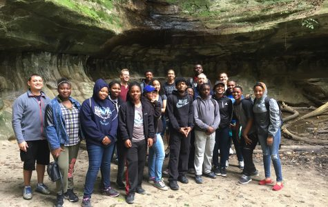 Hillcrest Students Extend the Classroom to Hiking Trails and Waterfalls