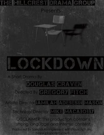 "The Hillcrest Drama Group Invites the Public to its Fall Performance of ""Lockdown"""