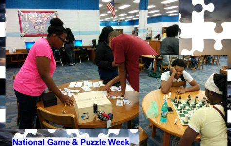 Hillcrest High School IMC Celebrates National Game & Puzzle Week