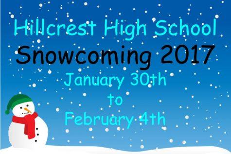 Hillcrest Student Council Announces Snowcoming Activities