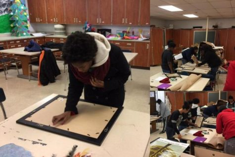Hillcrest Students Exhibit their artwork at the Museum of Science and Industry