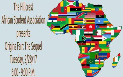 Hillcrest African Student Association Announces Origins Fair: The Sequel