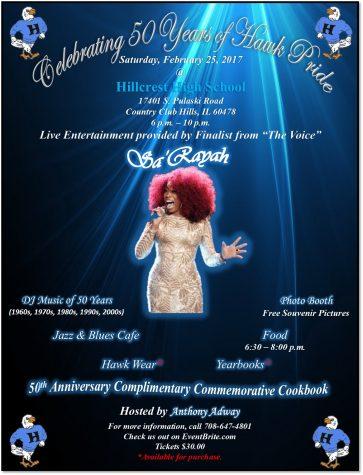 Hillcrest High School Announces 50th Anniversary Celebration & Gala