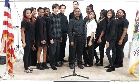 Hillcrest Concert Choir Participates in Veterans Day Celebration