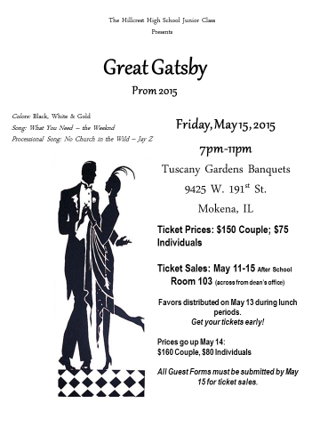 Introducing....PROM 2015!