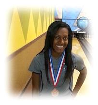 Senior Denishya Waller takes 4th in Regional Tournament