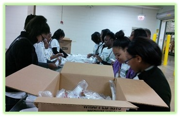 The Hillcrest Interact Club Visits The Greater Chicago Food Depository