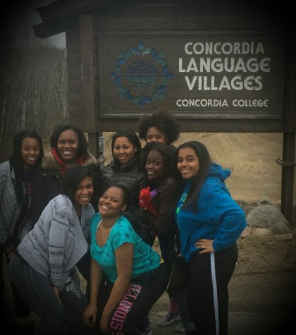 Hillcrest's AP Spanish students travel to Concordia Language Village
