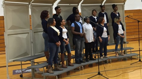 Hillcrest's Black History Program Gets Praise from Students and Teachers