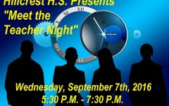 """Hillcrest HS announces upcoming """"Meet the Teacher Night"""""""