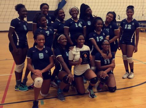 Lady Hawks Volleyball Focusing on Growth