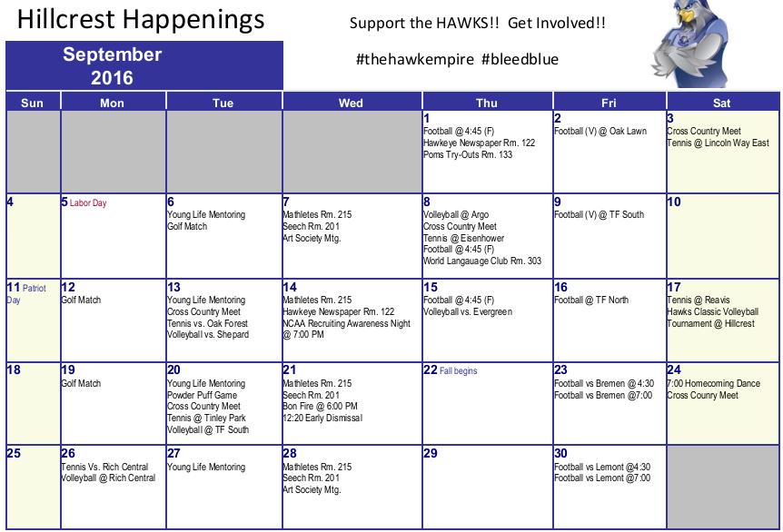 September+Events+at+Hillcrest
