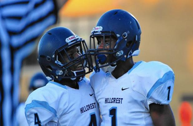 Hillcrest players Jordan Moore and Marcus Garret look forward to the playoffs.