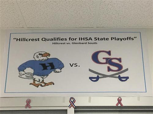 BPA Promotes School Spirit for the State-Bound Football Team