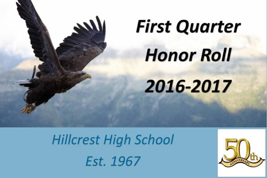 Hillcrest+HS+Releases+First+Quarter+Honor+Roll