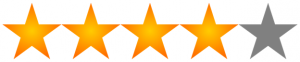 Four of Five Stars