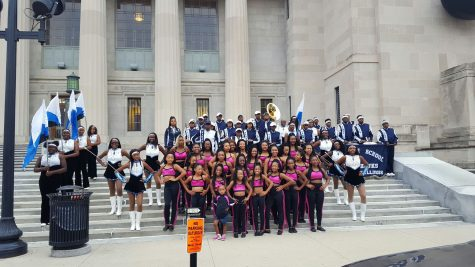 The Hillcrest Marching Band Travels to Indianapolis to Perform