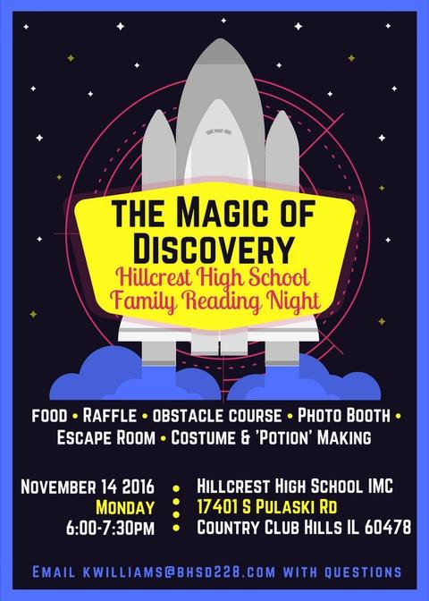 Hillcrest+HS+Celebrates+Family+Reading+Night