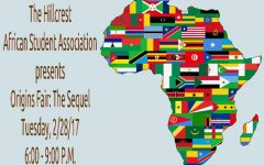 Hillcrest African Student Association Announces Origins Fair: The Sequel