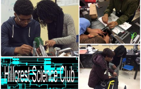 The Hillcrest Science Club Gives Robot (Anthropomorphic) Life