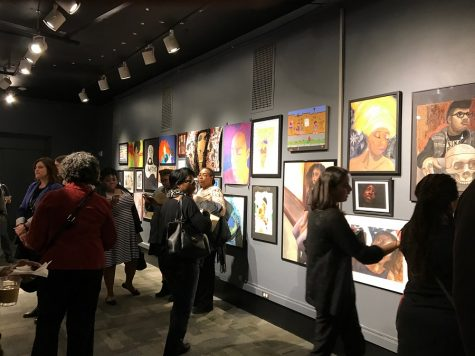 Hillcrest Art Students Showcase their Talent at the Museum of Science and Industry