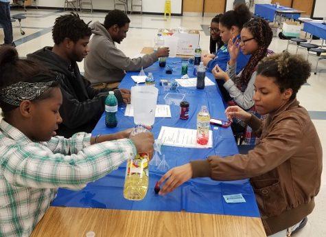The Hillcrest Community Explores During STEM Night