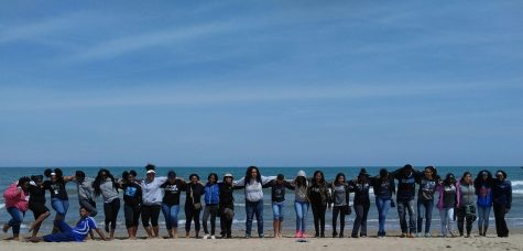 Hillcrest Students Work Together to Clean Up Chicago Lakefront