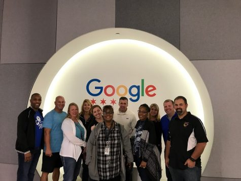 Hillcrest Teachers Visit Google