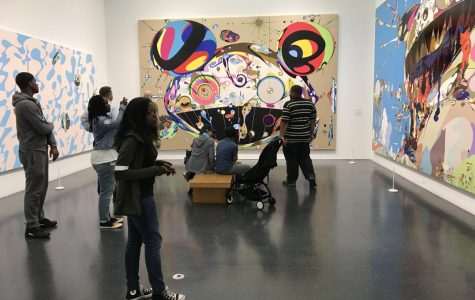 Hillcrest art students explore Museum of Contemporary Art. (9/2017)