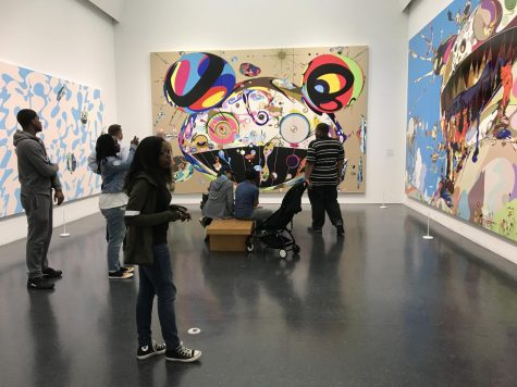 Hillcrest Art Students Explore Museum of Contemporary Art