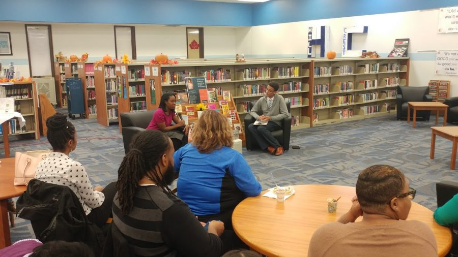 Author Ashley Pickett Visits Hillcrest