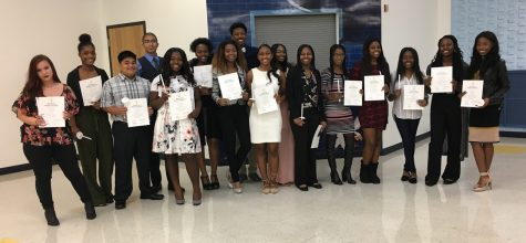 Hillcrest High School Inducts New National Honor Society Members