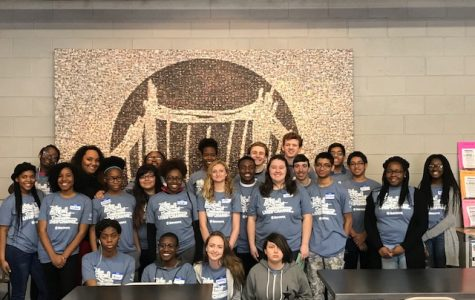 Global Youth Service Day at the Orland Bridge Teen Center 4/7/18