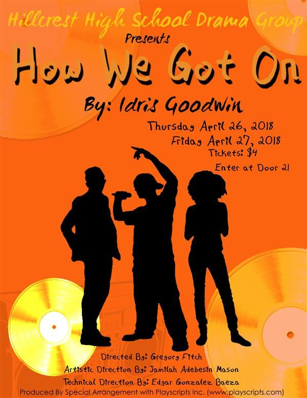 Hillcrest Drama Group Announces Spring Performance of How We Got On