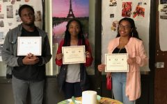 Hillcrest Seniors inducted into National French Language Honor Society