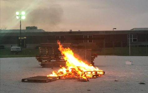 Hillcrest Homecoming Bonfire 2018