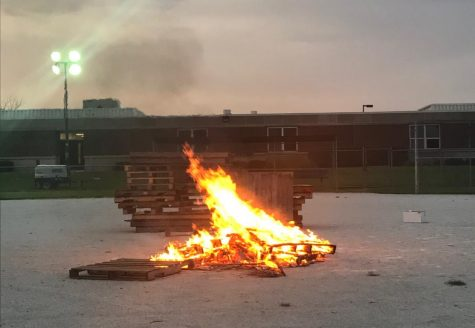 Hillcrest Homecoming Bonfire 2018