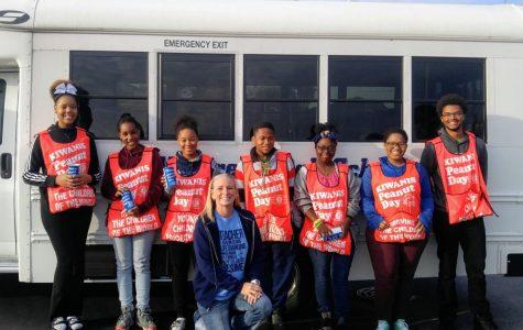 Hillcrest Key Club Supports Peanut Day