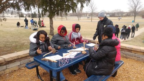 Students Participate in Global Youth Service Day