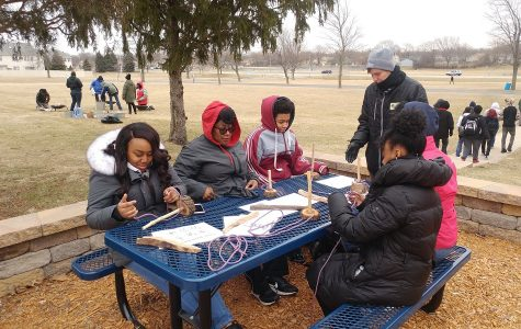 Hillcrest Students Learn Basic Wilderness Survival Skills!