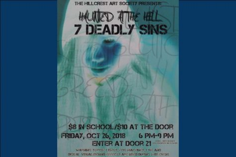 "The Hillcrest Art Society presents ""Haunted at the Hill: 7 Deadly Sins"""