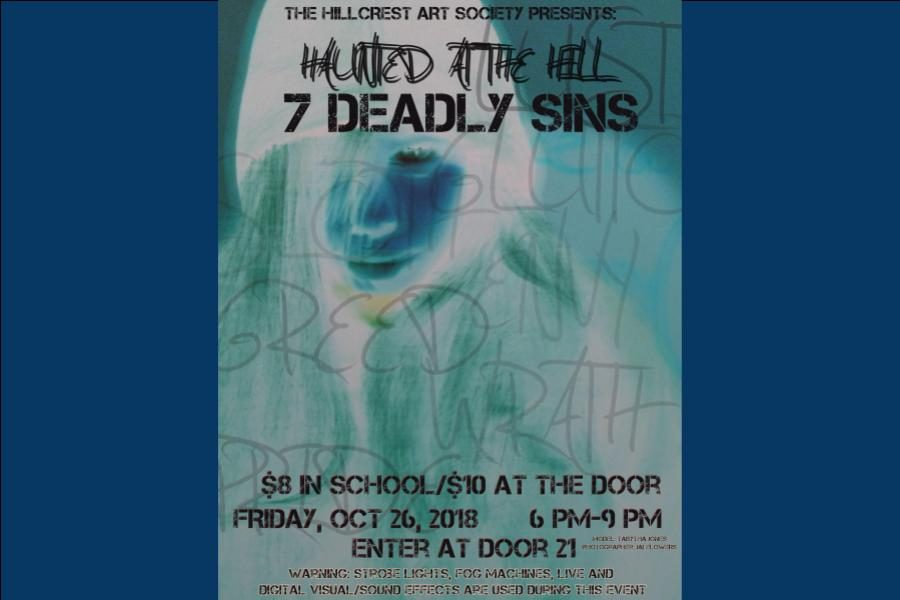 The+Hillcrest+Art+Society+presents+%E2%80%9CHaunted+at+the+Hill%3A+7+Deadly+Sins%E2%80%9D
