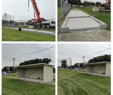 Hillcrest Gets New Dugouts
